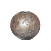 Ваза Шарик (Вензель античный, Романтик)15х15х14 см