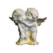 Ангелы пара целующиеся стоящие пастель/1х7/23х7х23