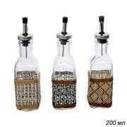 Бутылка для жидких специй 200 мл/ CY-44A с декором
