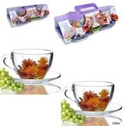 Чайный набор 4 предмета 200 мл в подарочн.уп-ке