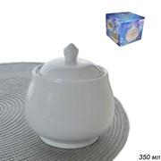 Сахарница белая / XC-WHITE /уп 72/