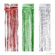 Новогодний дождь 150 см / 13-16 /уп 600/цвет микс