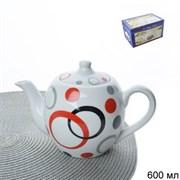 Чайник заварочный 600 мл / PY-20 Кольца 2 сорт