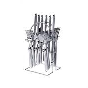 Столовые приборы 24 предмета на подставке