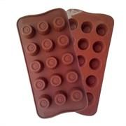 Форма силиконовая  для конфет и льда 15 ячеек