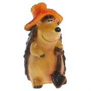 Ежик в шляпе с лопатой 25х27х43 см