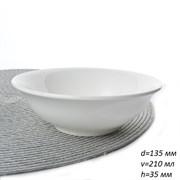 Салатник-миска 210 мл 2 сорт / 5D d=135, h=35 мм