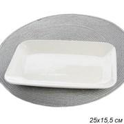 Блюдо 25х15,5 см 2 сорт / T-110 /уп 50/