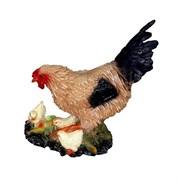 Курица с цыплятами полистоун 34х16х40 см