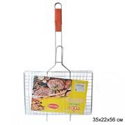 Решетка для барбекю плоская 35х22х56 см / 5812/1