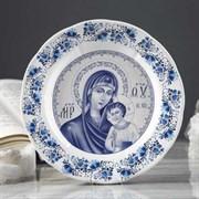 Тарелка Богородица 17,5х17,5х3 см