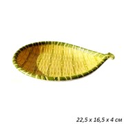 Блюдо Бамбук рыбка пластик 22,5х16,5х4 см