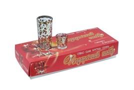 Набор 12 предметов Золото (6 стаканов+6 стопок) В