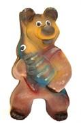 Копилка Медведь флок огромный/1х6/ 39 см