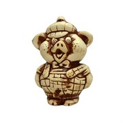 Статуэтка Свинка мальчик 7х6,5х11 см