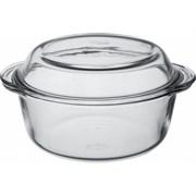Посуда для СВЧ Borcam 59003 круглая с крышкой 2,2л